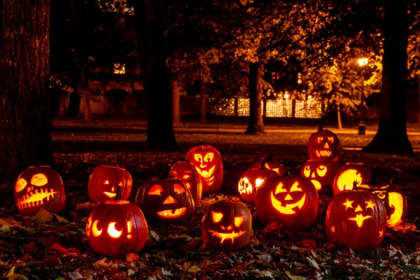 Halloweeen Fun in Ginter Park!